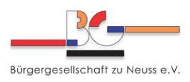 Bürgergesellschaft Neuss Logo